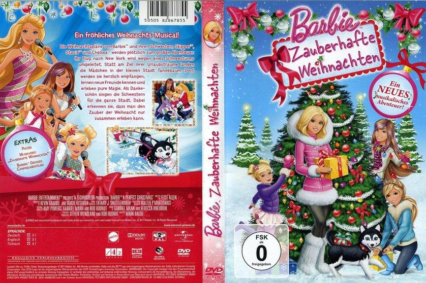 barbie zauberhafte weihnachten dvd oder blu ray leihen. Black Bedroom Furniture Sets. Home Design Ideas