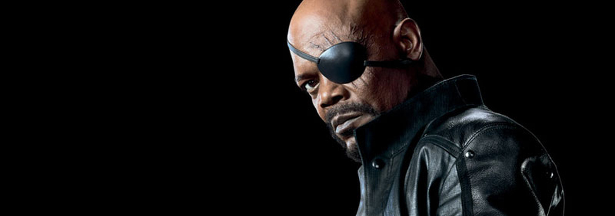 Samuel L. Jackson in 'The Avengers' 2012 © Paramount