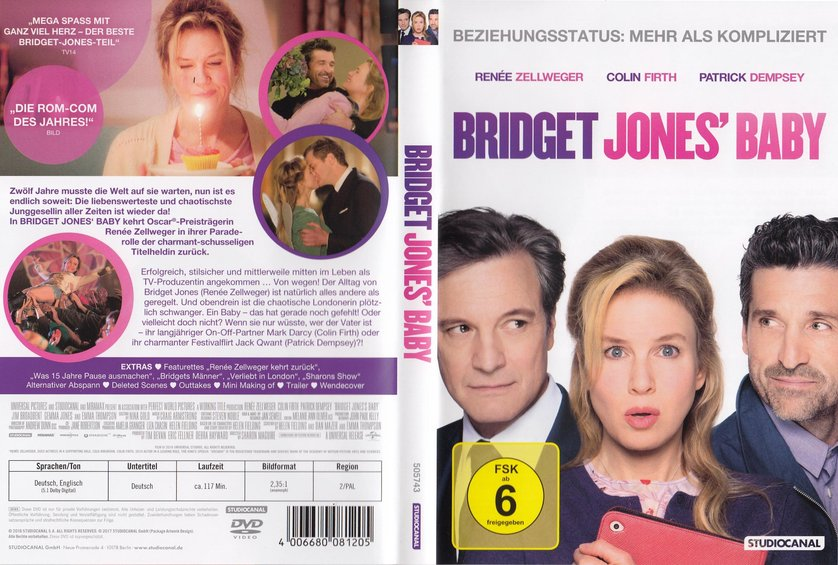 Bridget Jones 3 - Bridget Jones Baby: DVD oder Blu-ray