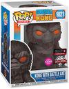 Godzilla vs. Kong Kong with Battle Axe (Flocked) Vinyl Figur 1021 powered by EMP (Funko Pop!)