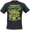 Teenage Mutant Ninja Turtles Group powered by EMP (T-Shirt)