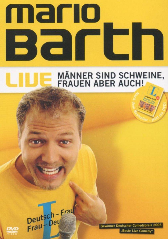 Mario Barth - Männer sind Schweine, Frauen aber auch!: DVD