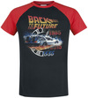 Zurück in die Zukunft Time T-Shirt schwarz rot powered by EMP (T-Shirt)