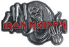 Iron Maiden Number Of The Beast Pin grau rot powered by EMP (Pin)