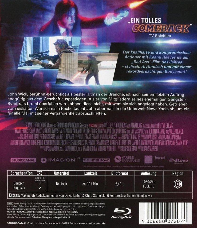 John Wick Dvd Oder Blu Ray Leihen Videobuster De
