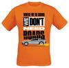 Zurück in die Zukunft We Don't Need Roads powered by EMP (T-Shirt)