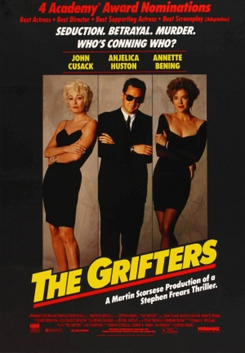 the grifters There's no real connection between stephen frears' the grifters (1990) and  david cronenberg's existenz (1999), but their placement at the beginning and  end.