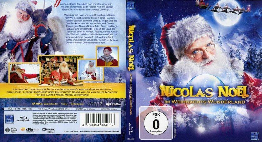 nicolas no l im weihnachts wunderland dvd oder blu ray. Black Bedroom Furniture Sets. Home Design Ideas