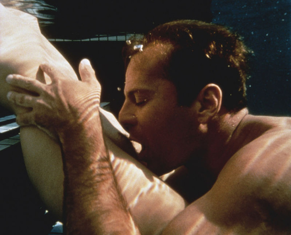 Jane March und Bruce Willis in 'Color of Night' 1994 © BMG Video