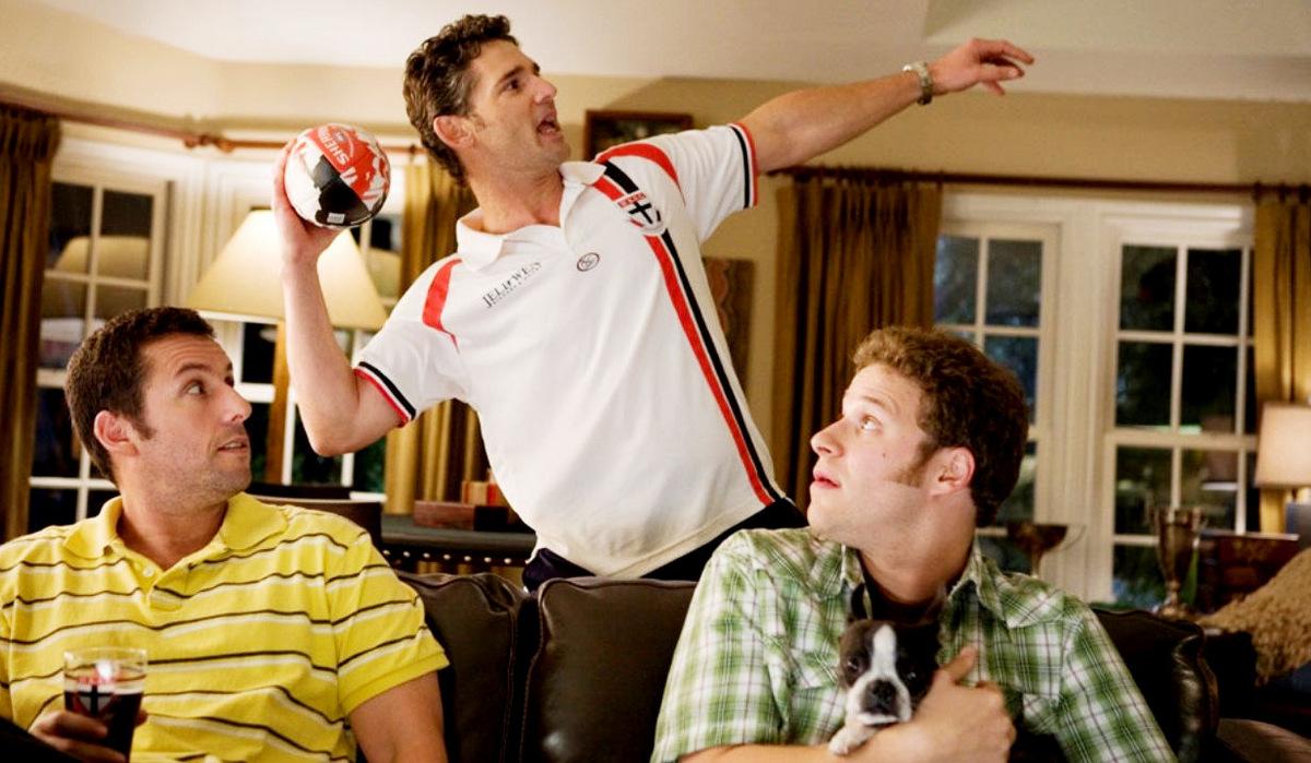 Adam Sandler, Eric Bana und Seth Rogen in 'Wie das Leben so spielt' 2009 © Universal Pictures