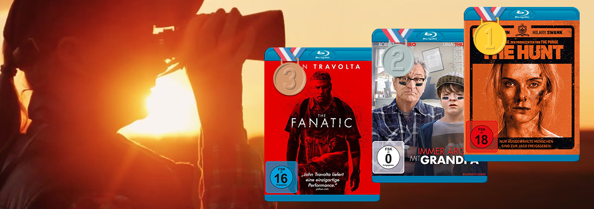 DVD & Blu-ray Charts 09-2020: Die Top 10 DVD und Blu-ray Charts September 2020