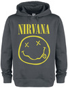 Nirvana Amplified Collection - Smiley powered by EMP (Kapuzenpullover)