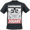 SpongeBob Schwammkopf It´s Hip To Be Square powered by EMP (T-Shirt)