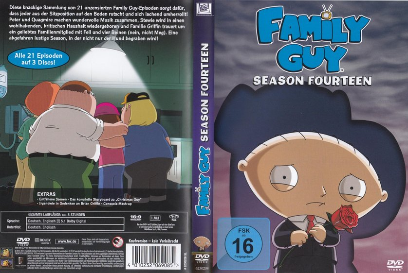 Family Guy Staffel 14