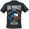 Gas Monkey Garage Texas Flag powered by EMP (T-Shirt)