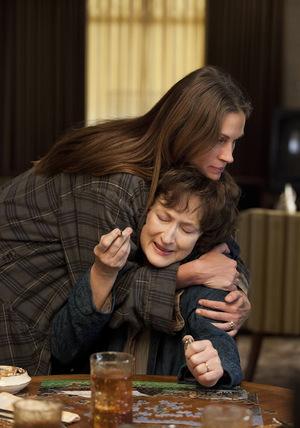 Julia Roberts und Meryl Streep in 'Im August in Osage County'