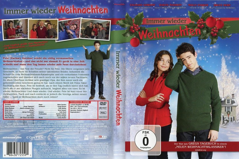 immer wieder weihnachten dvd oder blu ray leihen. Black Bedroom Furniture Sets. Home Design Ideas