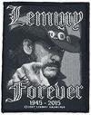 Motörhead Lemmy Kilmister - Forever Patch schwarz weiß powered by EMP (Patch)
