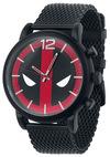 Deadpool Deadpool Logo Armbanduhren schwarz rot weiß powered by EMP (Armbanduhren)