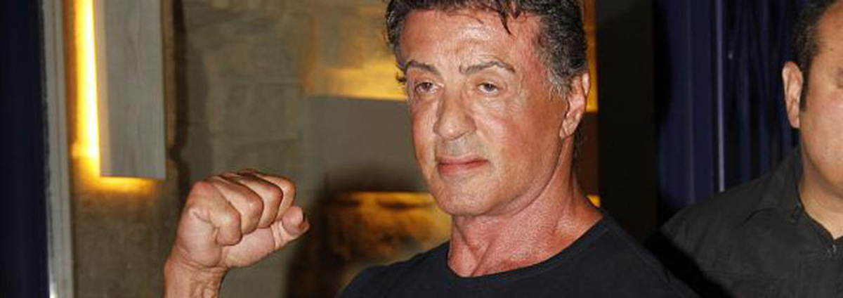 Sylvester Stallone: Standing Ovations für Sylvester Stallone