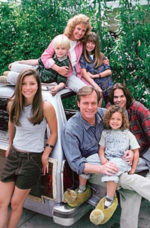 Die 'himmlische Familie' aus '7th Heaven' (c) Spelling TV