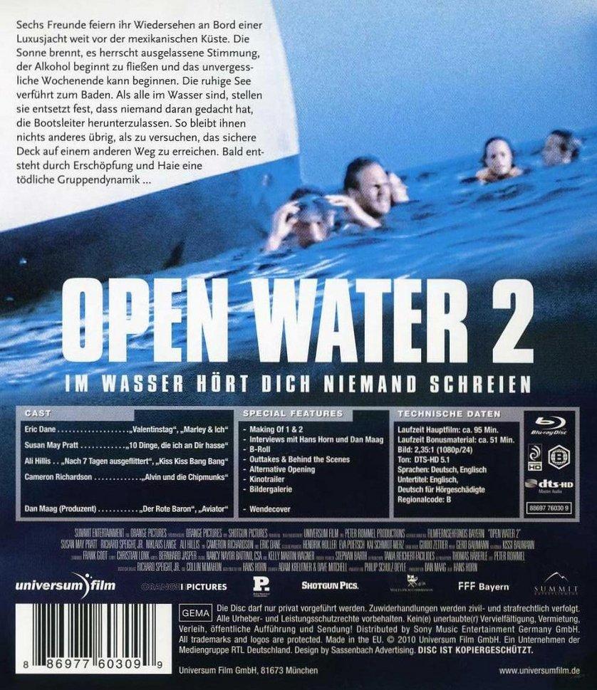 Open Water Stream Deutsch