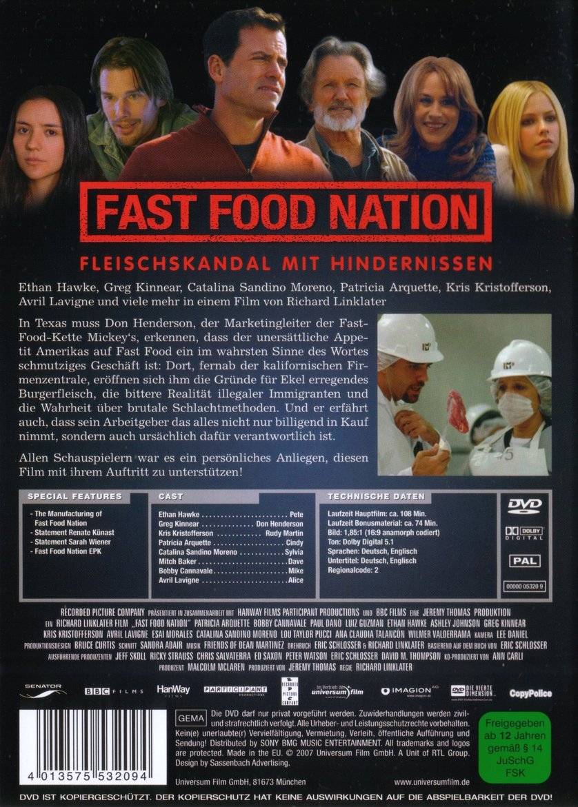 fast food nation the inconvenient truth of The inconvenient truth of health is that healthy living does require effort there are no shortcuts and if you're looking for the one thing you can do that would most dramatically improve your or your family's health, my money would be on you prioritizing the regular, uninterrupted use of your kitchen.