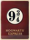 Harry Potter Gleis 9 3/4 - Hogwarts Express powered by EMP (Blechschilder)