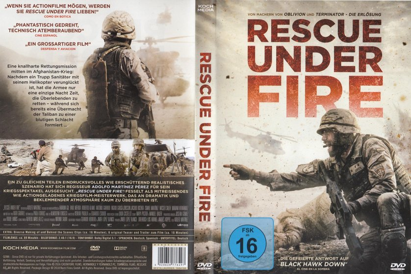 Rescue Under Fire: DVD oder Blu-ray leihen - VIDEOBUSTER.de