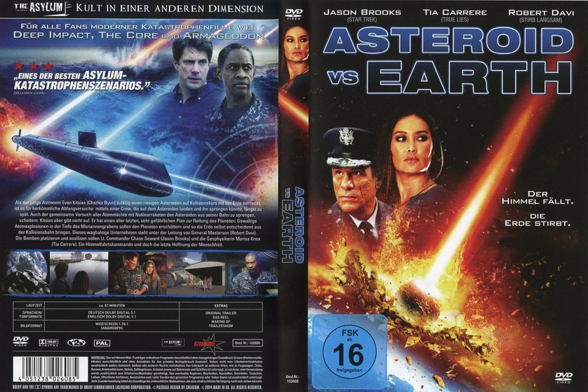 asteroid vs earth dvd -#main