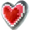 The Legend Of Zelda Heart Container powered by EMP (Plüschfigur)