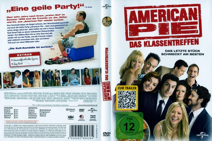 american pie das klassentreffen dvd oder blu ray leihen. Black Bedroom Furniture Sets. Home Design Ideas