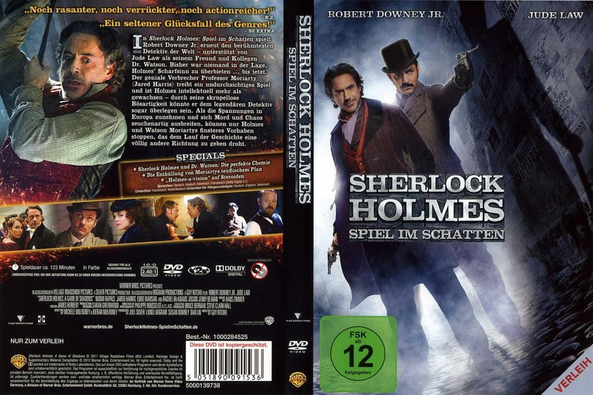 Sherlock Holmes Spiel Im Schatte Stream