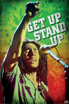 Bob Marley Get Up Stand Up powered by EMP (Poster)