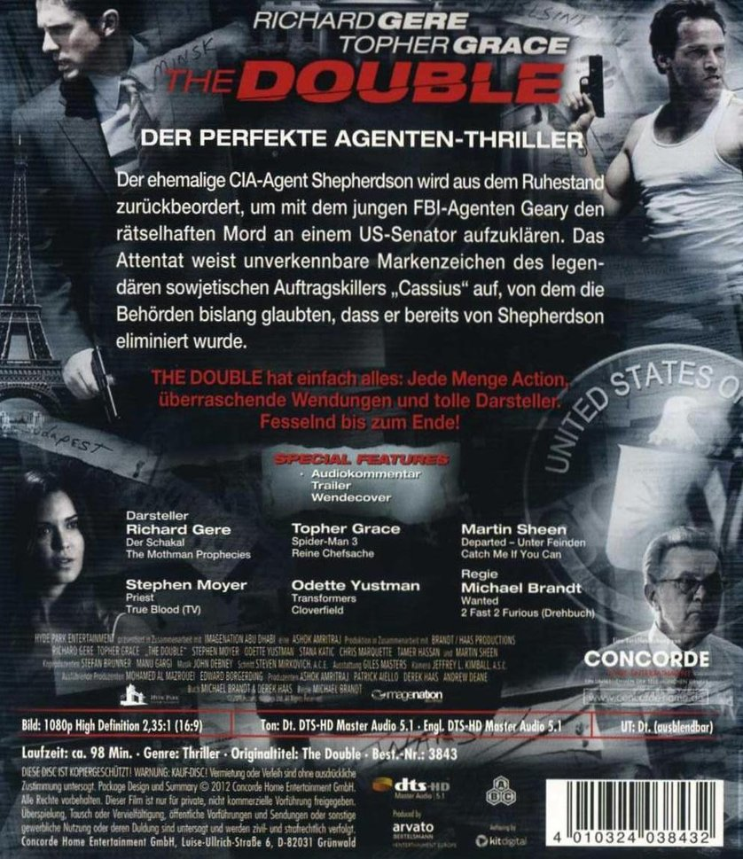 The Double – Eiskaltes Duell