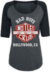 Mötley Crüe Bad Boys T-Shirt grau schwarz powered by EMP (T-Shirt)