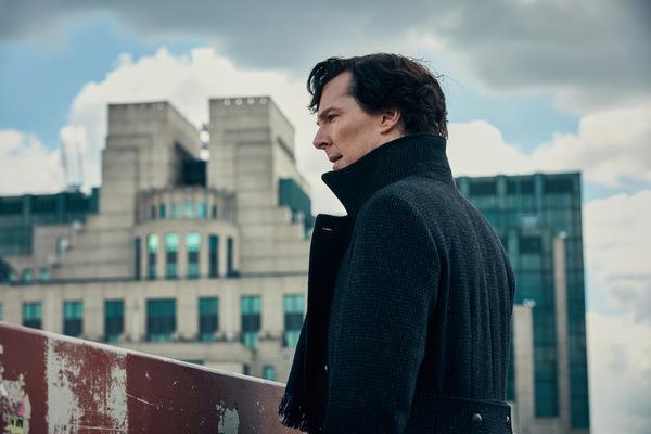 Benedict Cumberbatch als Sherlock © BBC