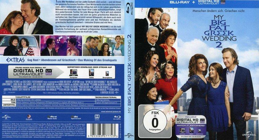 My Big Fat Greek Wedding Blu Ray 109