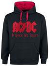 AC/DC In Rock We Trust Kapuzenpullover schwarz rot powered by EMP (Kapuzenpullover)