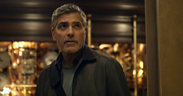 George Clooney in 'A World Beyond' © Walt Disney Studios