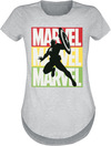 Captain America Marvel Logo powered by EMP (T-Shirt)