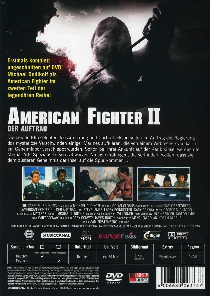 American Fighter 1 Deutsch Ganzer Film