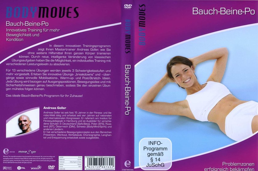 bodymoves bauch beine po dvd oder blu ray leihen. Black Bedroom Furniture Sets. Home Design Ideas