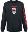Metallica Kill 'Em All - Skull powered by EMP (Langarmshirt)
