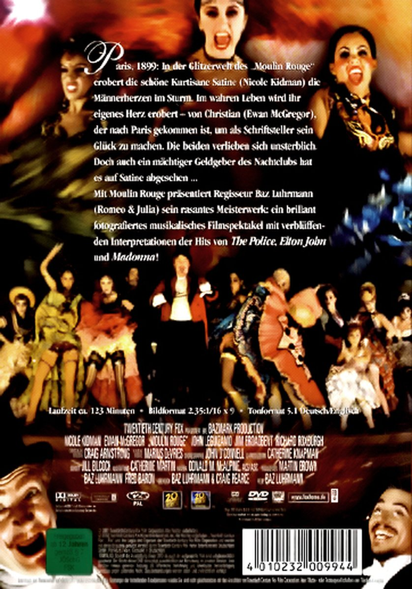 Moulin Rouge Dvd Oder Blu Ray Leihen Videobusterde