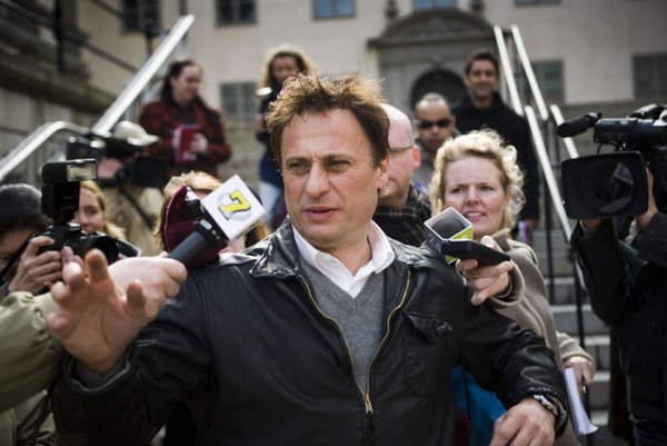 Hauptdarsteller Michael Nyqvist in der Rolle des Mikael Blomkvist.