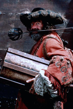 1986: Walter Matthau in Roman Polanskis 'Piraten' © Concorde
