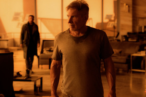 Ryan Gosling und Harrison Ford in 'Blade Runner 2049'