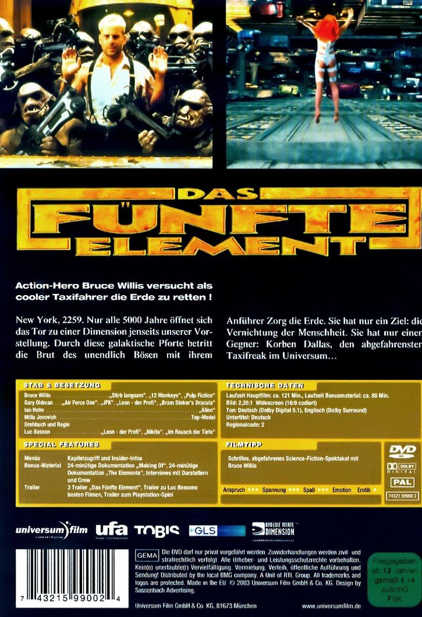 Bücher & Skripte Presseheft Treu Das Fünfte Element Film-fanartikel