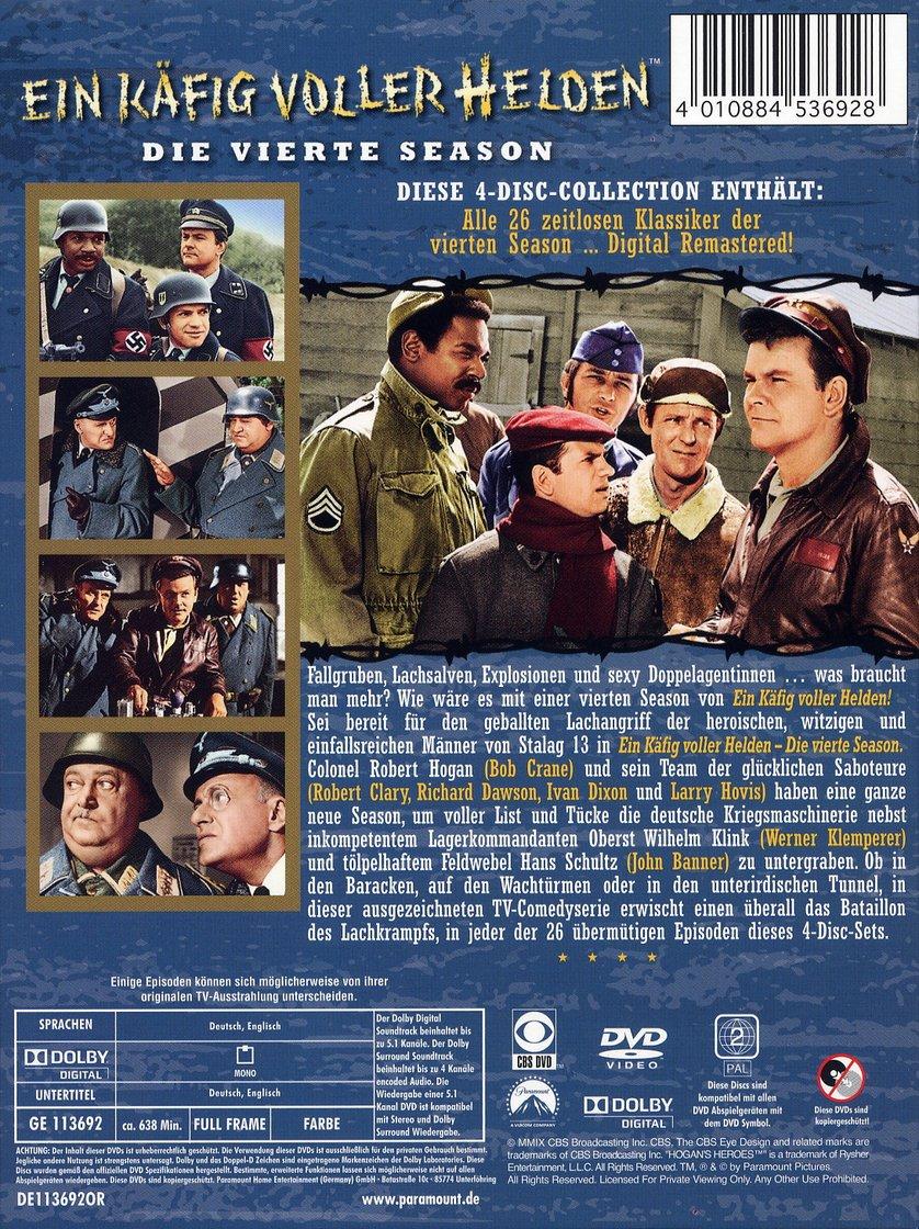 Ein Käfig Voller Helden Staffel 4 Dvd Oder Blu Ray Leihen